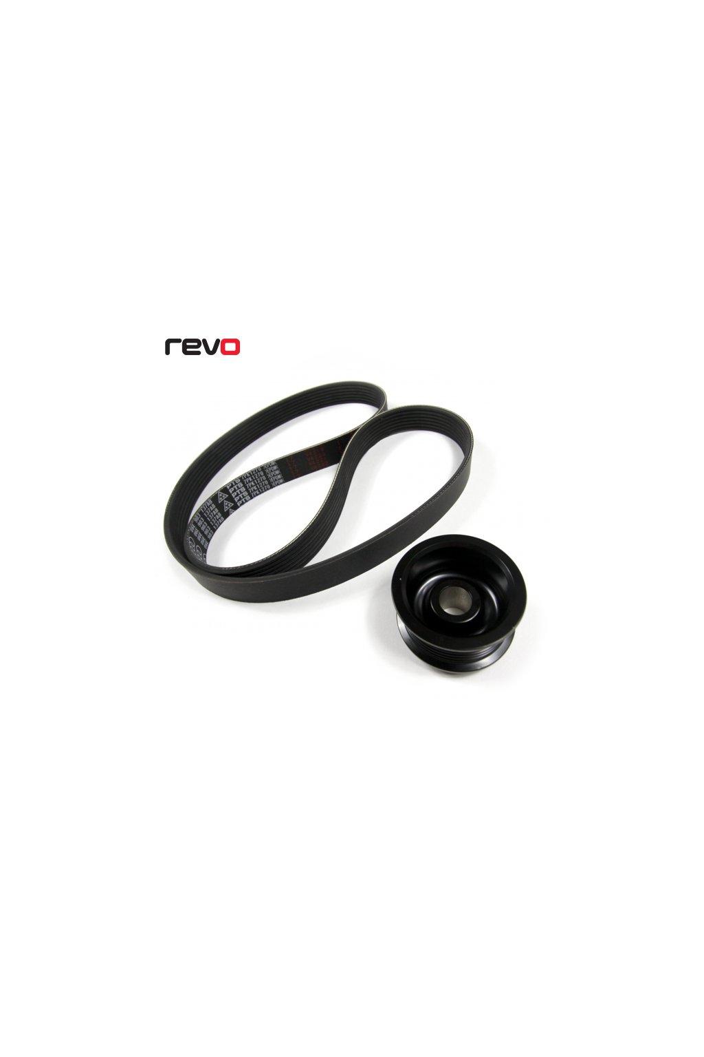 Revo Stage 1+ řemenice kompresoru Audi B8 3.0T včetně řemenu