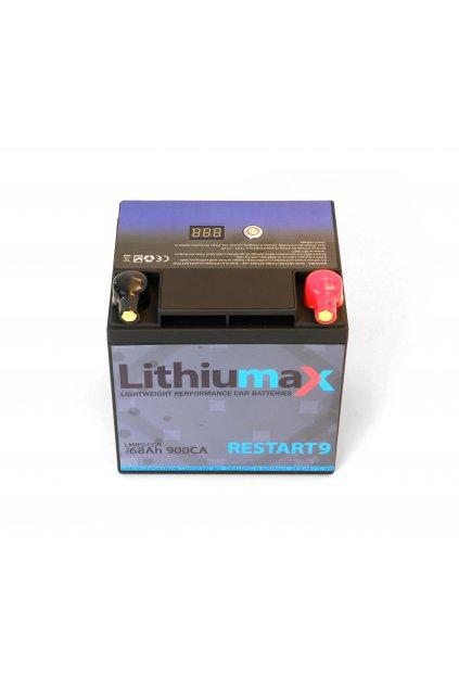 Lithiumax RESTART 9 lehká autobaterie 3,3kg
