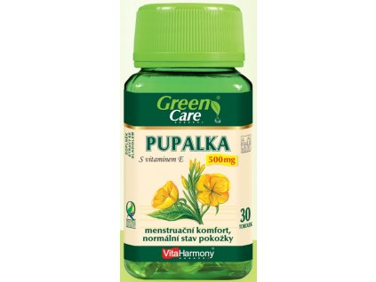 Pupalka 500 mg s vitaminem E - 30 tbl.