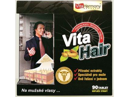 VitaHair, vlasový stimulátor pro muže - 90 tbl.