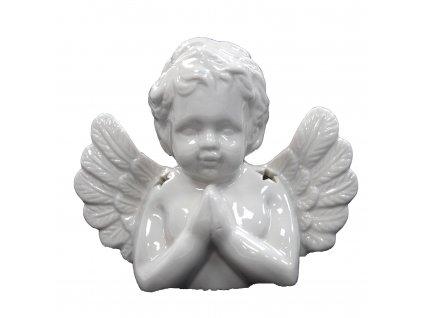 Aromalampa Modlící se anděl bílý 1 ks