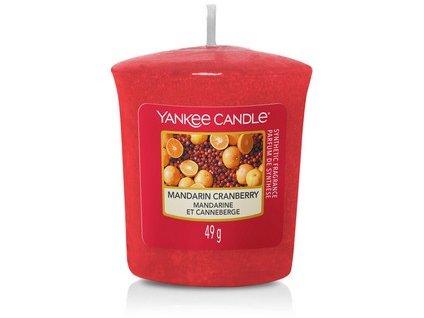 VONNÁ SVÍČKA Yankee Candle votivní svíčka Mandarin cranbarry 49 g