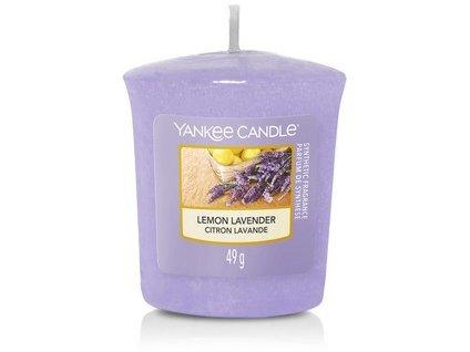 VONNÁ SVÍČKA Yankee Candle votivní svíčka Lemon Lavender 49