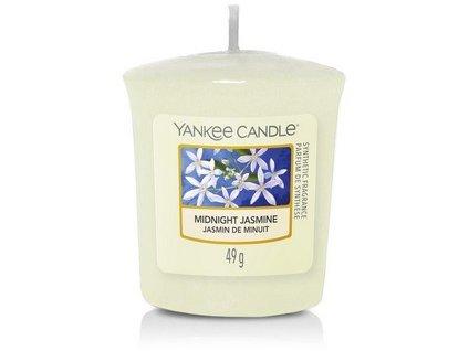 Vonná svíčka Yankee Candle votivní svíčka MIDNIGHT JASMINE 49g