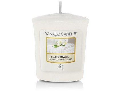 Vonná svíčka Yankee Candle votivní svíčka FLUFFY TOWELS  49 g