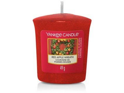 Vonná svíčka Yankee Candle votivní svíčka RED APPLE WREATH  49 g