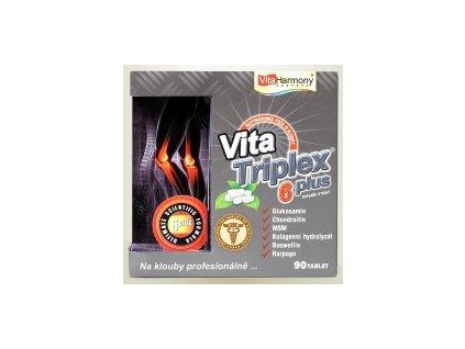 VitaTriplex® 6 plus - šestinásobná ochrana kloubů 90 tbl.