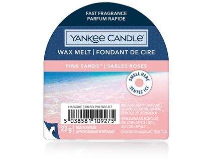 Yakee Candle vonný vosk do aromalampy nový PINK SAND  22g