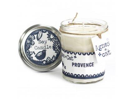Sojová svíčka v zavařovací sklenici Provence 220g