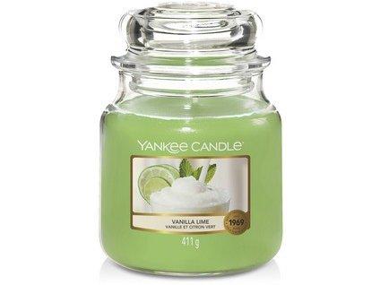 VONNÁ SVÍČKA Yankee Candle  Vanilla Lime 411 g