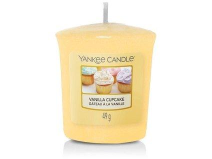 VONNÁ SVÍČKA Yankee Candle votivní svíčka Vanilla cupcake 49 g