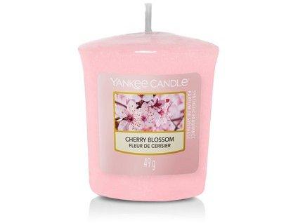 VONNÁ SVÍČKA Yankee Candle votivní svíčka Cherry blossom 49 g