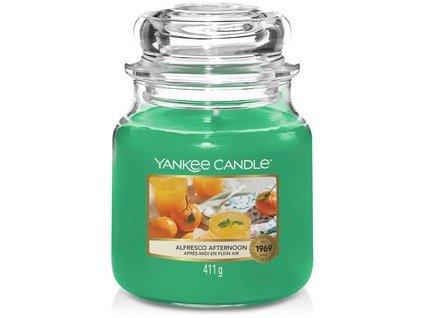 VONNÁ SVÍČKA Yankee Candle Alfresco afternoon 411g
