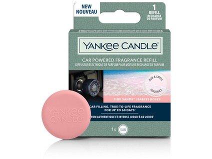 YANKEE CANDLE vonný difuzer do zapalovače PINK SANDS náhradní náplň 1 ks
