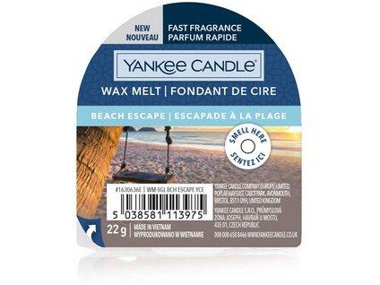 Yakee Candle vonný vosk do aromalampy nový BEACH ESCAPE 22g