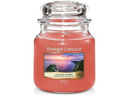 Vonná svíčka Yankee Candle  Cliffside sunrise 411 g