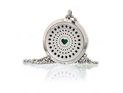 Aroma náhrdelník  Srdce 30 mm