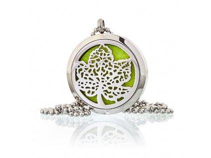 Aroma náhrdelník  List 30 mm