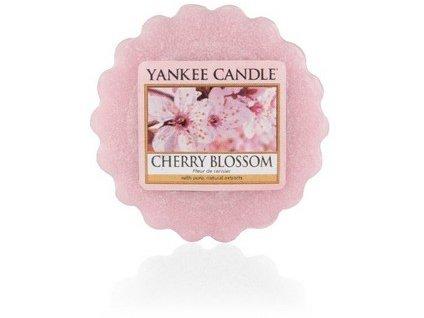 VONNÁ SVÍČKA Yankee Candle vonný vosk Cherry blossom 49 g