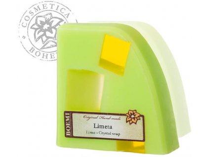 Mýdlo křišťálové s jogurtem LIMETA 120g