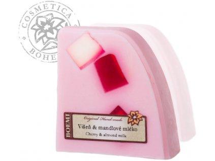 Mýdlo křišťálové s jogurtem VIŠEŇ 120g