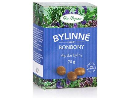 Bonbony Alpské byliny, 70 g