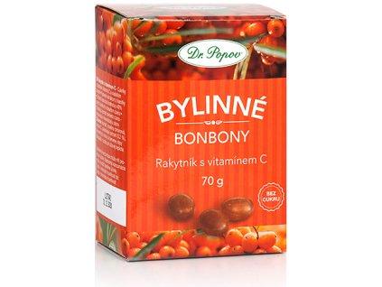Bonbony Rakytník s vitamínem C, 70 g