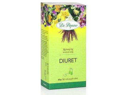 Bylinný čaj DIURET na močové cesty - 30g (20 sáčků)