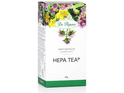Bylinný čaj HEPA tea® s obsahem hořčin - 50g