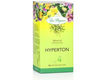 Bylinný čaj HYPERTON s obsahem jmelí - 30g (20 sáčků)