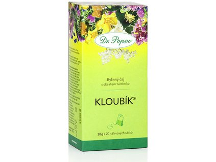 Bylinný čaj KLOUBÍK® s obsahem tužebníku - 30g (20 sáčků)