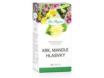Bylinný čaj KRK, MANDLE, HLASIVKY s lipovým kvěťem - 50g