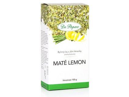 Bylinný čaj z Jižní Ameriky MATÉ LEMON - 100g