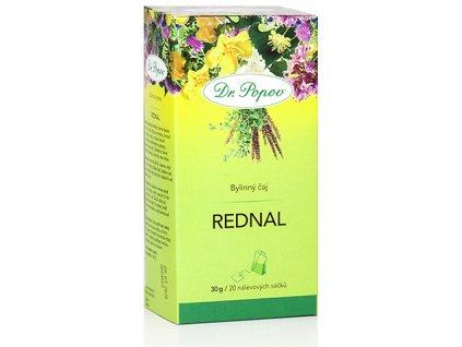 Bylinný čaj REDNAL pro odvod tekutin a moči z organizmu - 30g (20 sáčků)