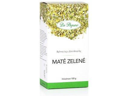 Bylinný čaj z Jižní Ameriky MATÉ ZELENÉ pro snížení hmotnosti - 100g