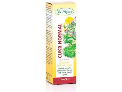 Bylinné kapky Cukr normal, 50 ml