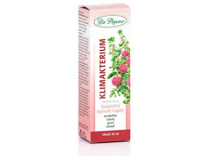 Bylinné kapky Klimakterium, 50 ml