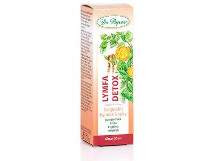 Bylinné kapky Lymfa Detox, 50 ml