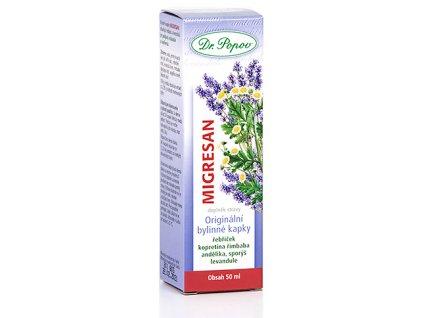 Bylinné kapky Migresan, 50 ml