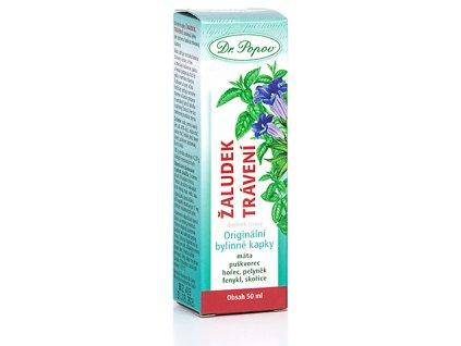 Bylinné kapky Žaludek & trávení, 50 ml