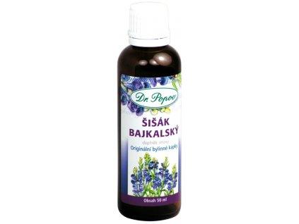 Šišák bajkalský, 50 ml, originální bylinné kapky