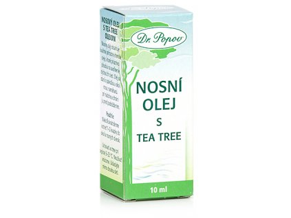 Nosní olej s Tea Tree, 10 ml