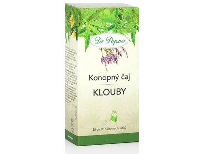 Konopný bylinný čaj KLOUBY - 30g (20 sáčků)