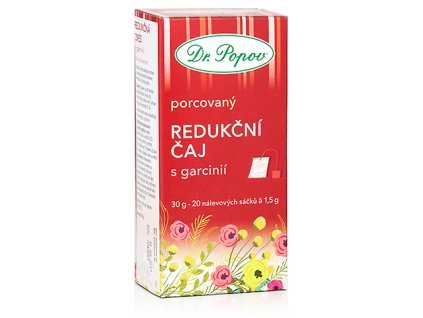 Bylinný čaj REDUKČNÍ S GARCINIÍ pro kontrolu tělesné hmotnosti - 30g (20 sáčků)
