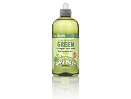 Eco Clean prostředek na mytí nádobí - Citrón - 500 ml
