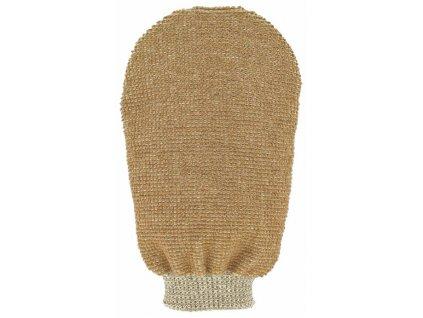 Förster´s masážní rukavice - bio len - 2 strany s 2 hrubostmi 1ks