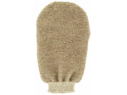 Masážní rukavice - bambus - 2 strany s 2 hrubostmi