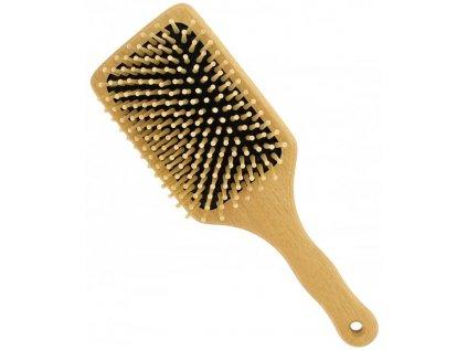 Förster´s vlasový kartáč z FSC certif. bukového dřeva - se zakulacenými dřevěnými ostny - největší 1ks