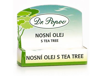 Nosní olej s Tea Tree olejem, 6 ml, roll – on
