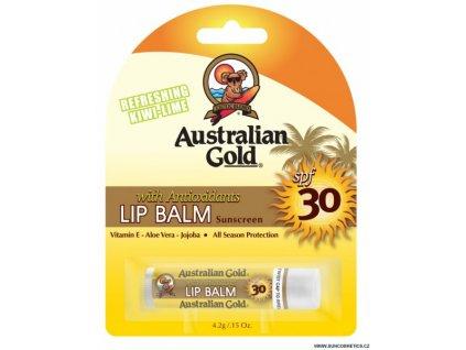 australian gold spf 30 balzam na rty 42ml